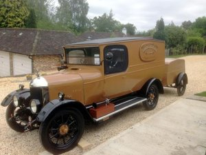 1925 Morris Oxford 'Bullnose' Van For Sale by Auction