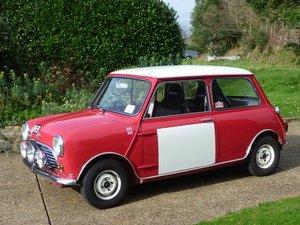 1967 Morris Mini Cooper Mk1  Restored to Rally Specs.