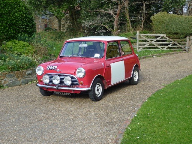 1967 Morris Mini Cooper Mk1  Restored to Rally Specs. SOLD (picture 2 of 6)
