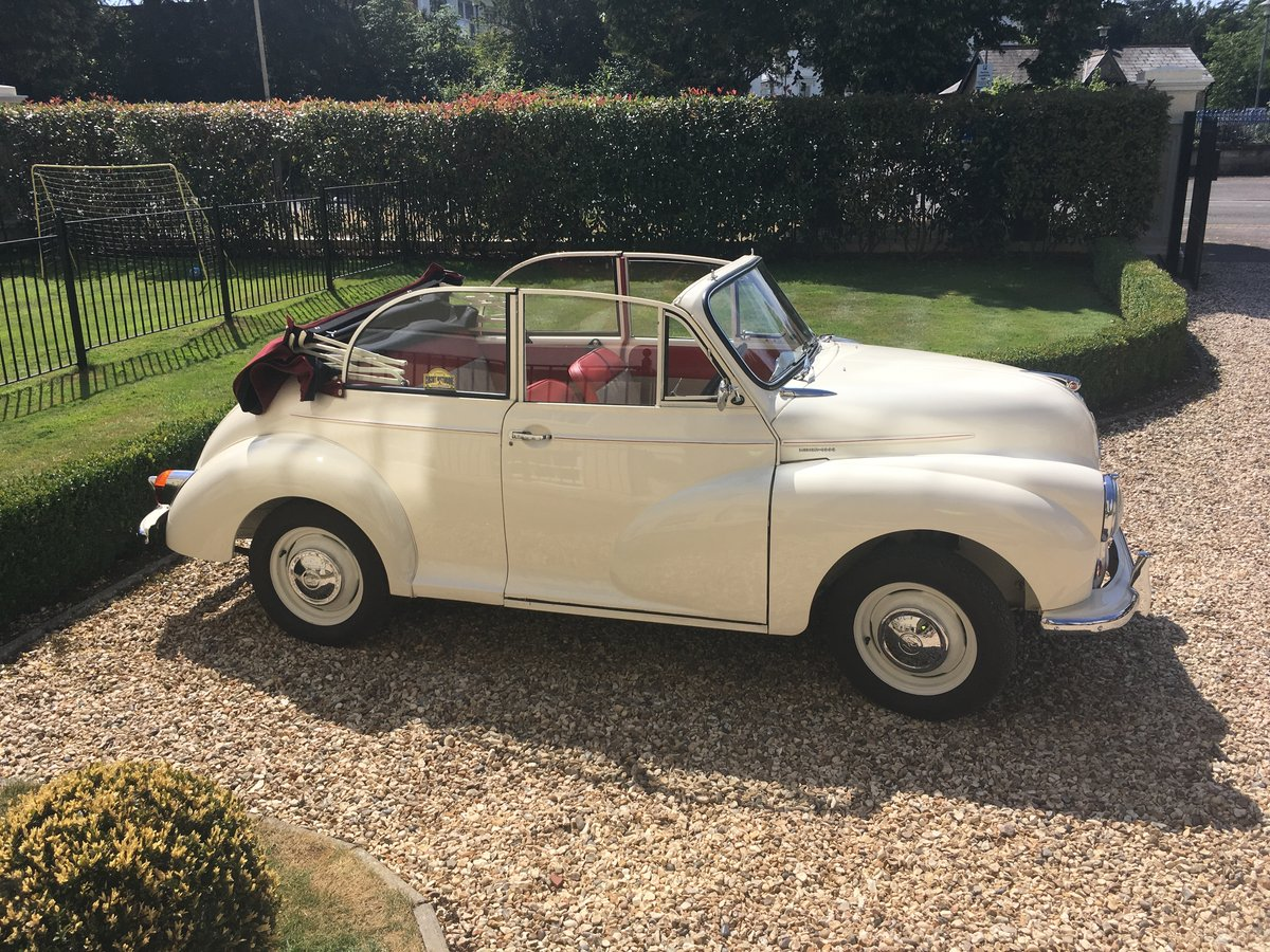 Beautifully restored 1961 minor convertible SOLD (picture 1 of 6)