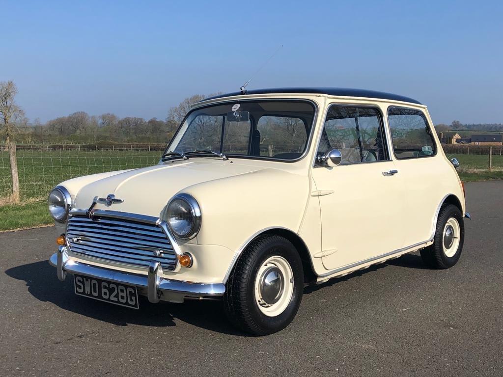 1961 Morris Mini Cooper MK II SOLD (picture 1 of 6)