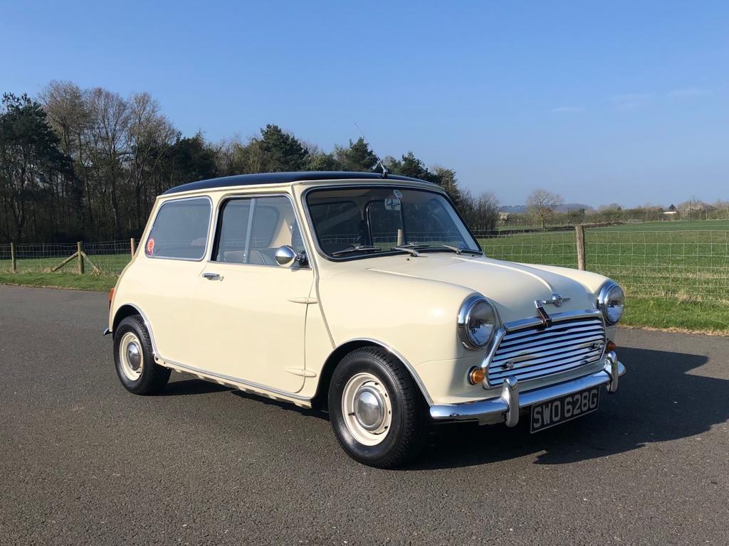 1961 Morris Mini Cooper MK II SOLD (picture 3 of 6)