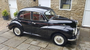 1962 Morris Minor 1000 4 door Deluxe. 48000 miles. SOLD