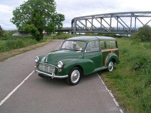 1969 Morris Minor 1000 Traveller Historic Vehicle For Sale