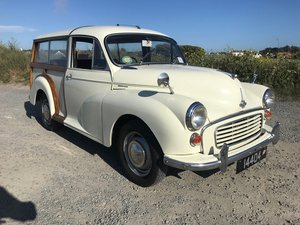1968 Minor 1000 Traveller restored with 1275cc engine fitted SOLD