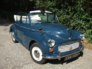 1970 Morris 1000 Convertible for Sale For Sale