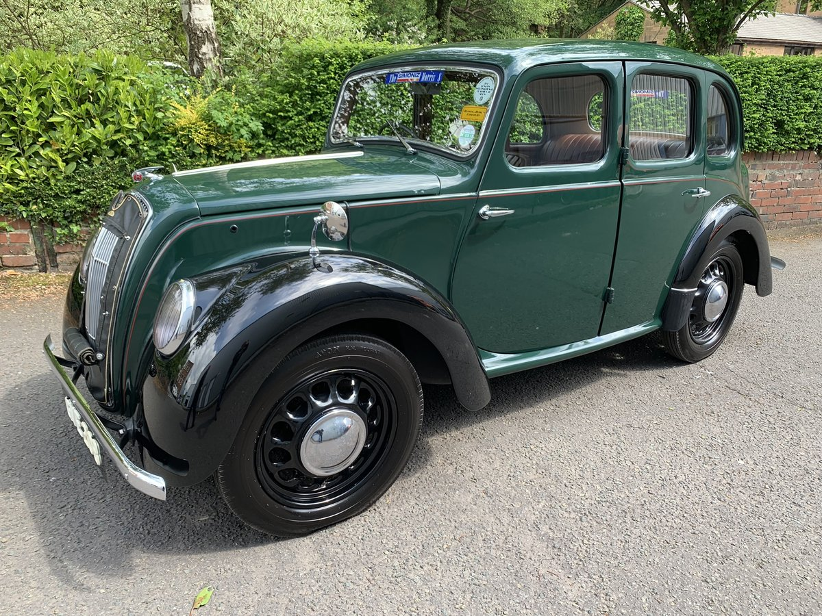 1948 MORRIS EIGHT E SERIES SALOON. SOLD (picture 1 of 6)