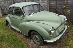1958 Lot 1 - A 1956 Morris Minor 1000 - 23/06/2019 For Sale by Auction