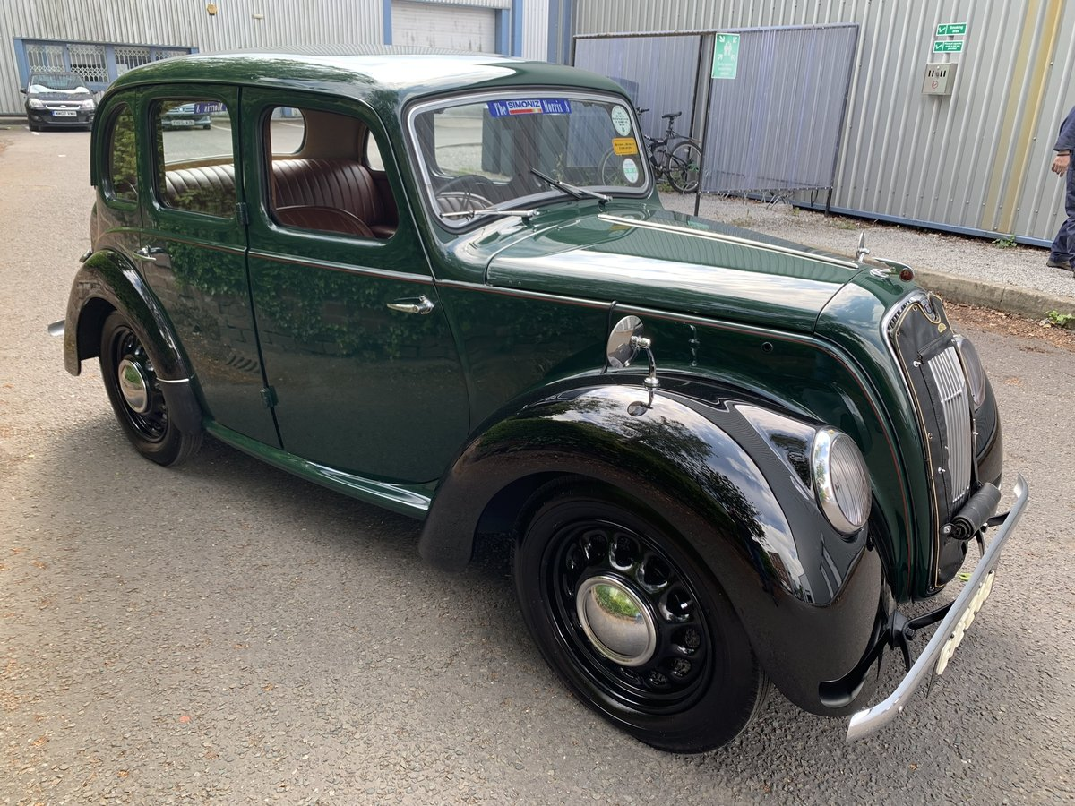 1948 MORRIS EIGHT E SERIES SALOON. SOLD (picture 4 of 6)