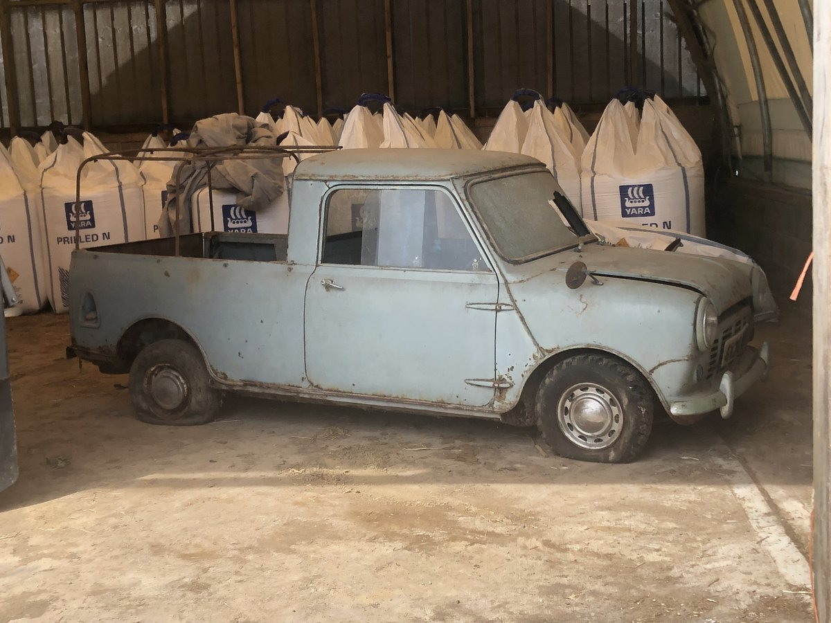 1962 Morris Mini Pickup for sale by auction on June 15th SOLD by Auction (picture 1 of 6)