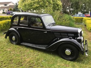 1937 Morris 10/4 Saloon for sale by auction on June 15th