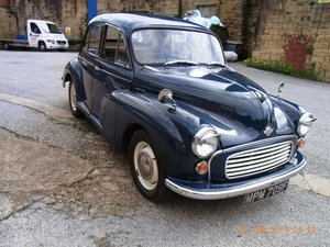 1967 Morris Minor 1000 / 4 door Saloon For Sale