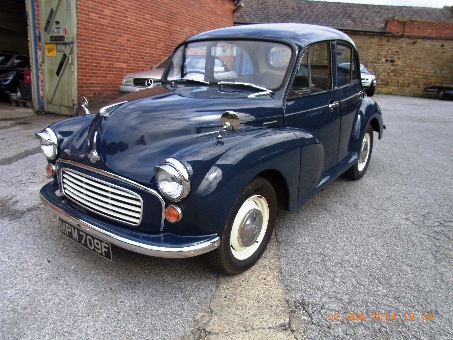 1967 Morris Minor 1000 / 4 door Saloon For Sale (picture 2 of 6)