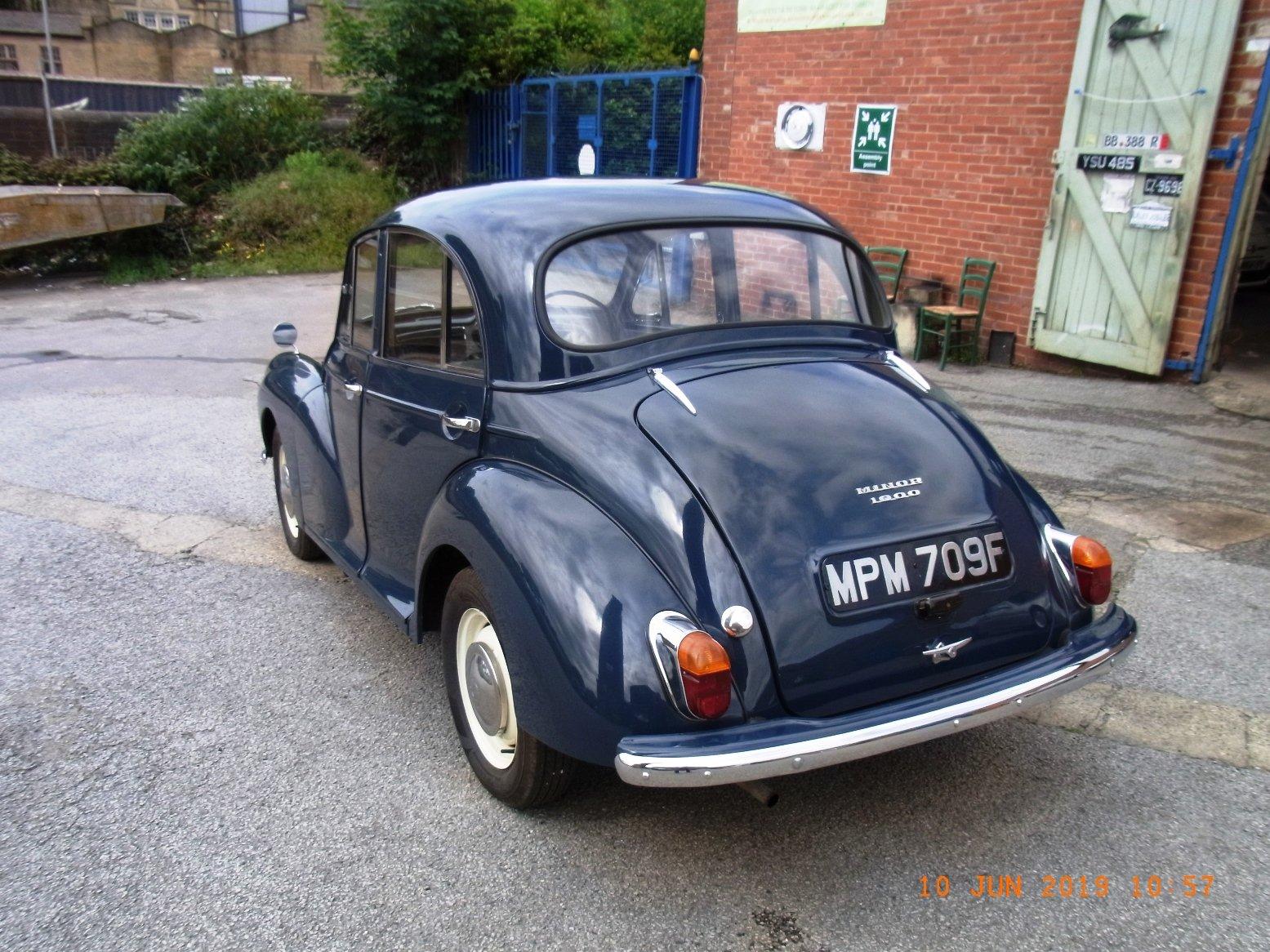1967 Morris Minor 1000 / 4 door Saloon For Sale (picture 4 of 6)