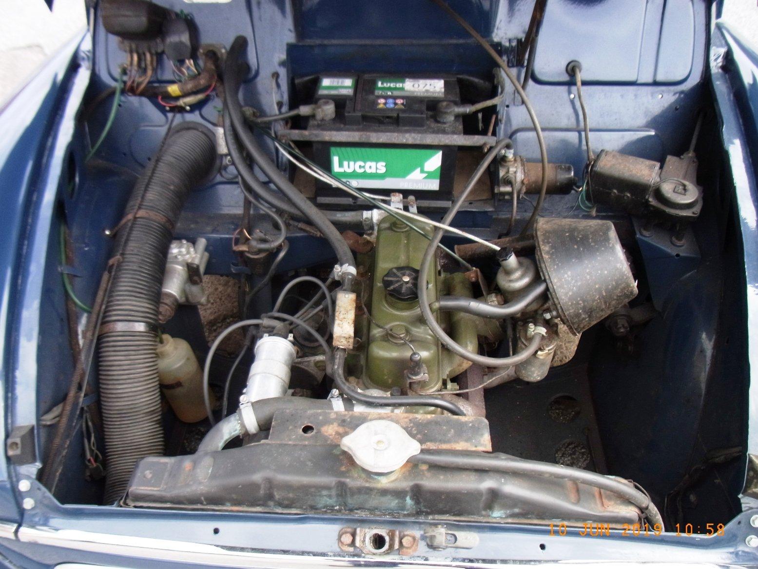 1967 Morris Minor 1000 / 4 door Saloon For Sale (picture 6 of 6)
