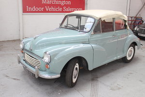 Public Auction:1960 Morris 1000 Tourer
