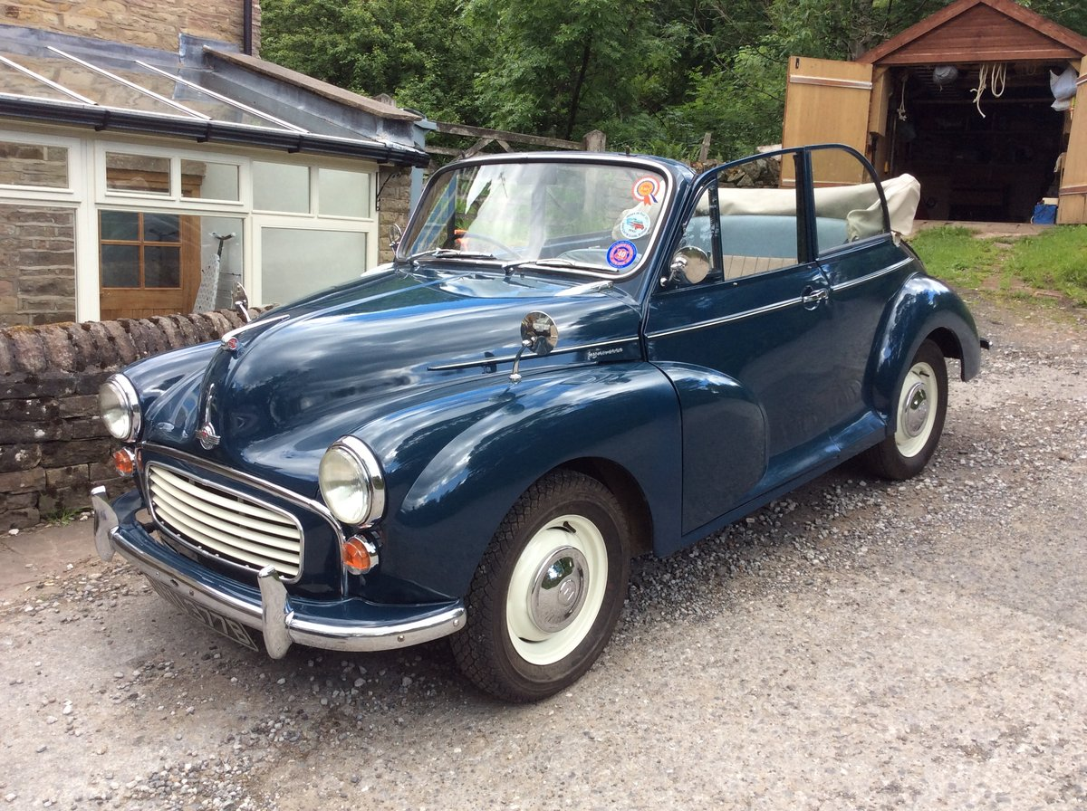 1964 Morris Minor Convertible SOLD (picture 1 of 6)