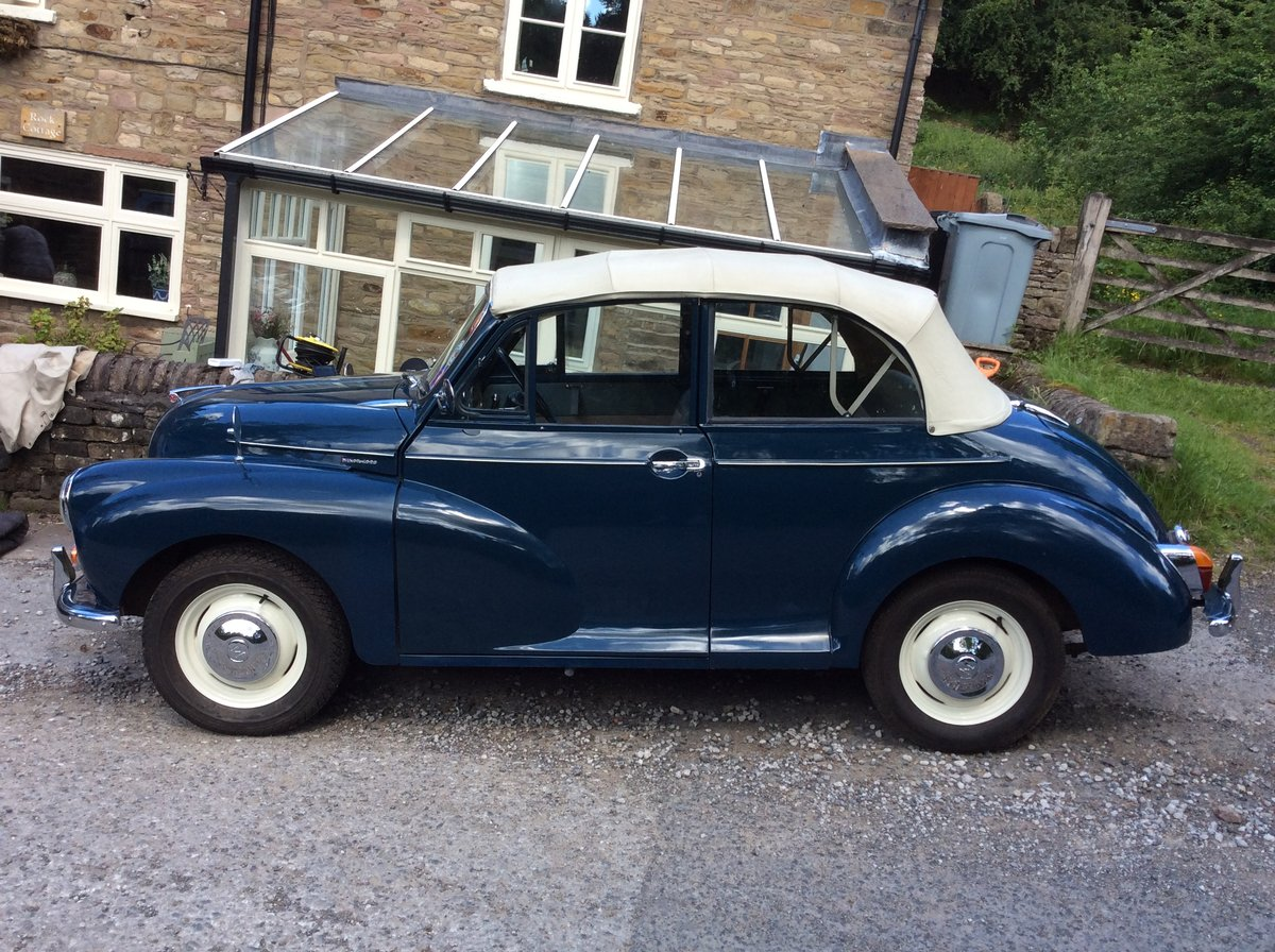 1964 Morris Minor Convertible SOLD (picture 5 of 6)