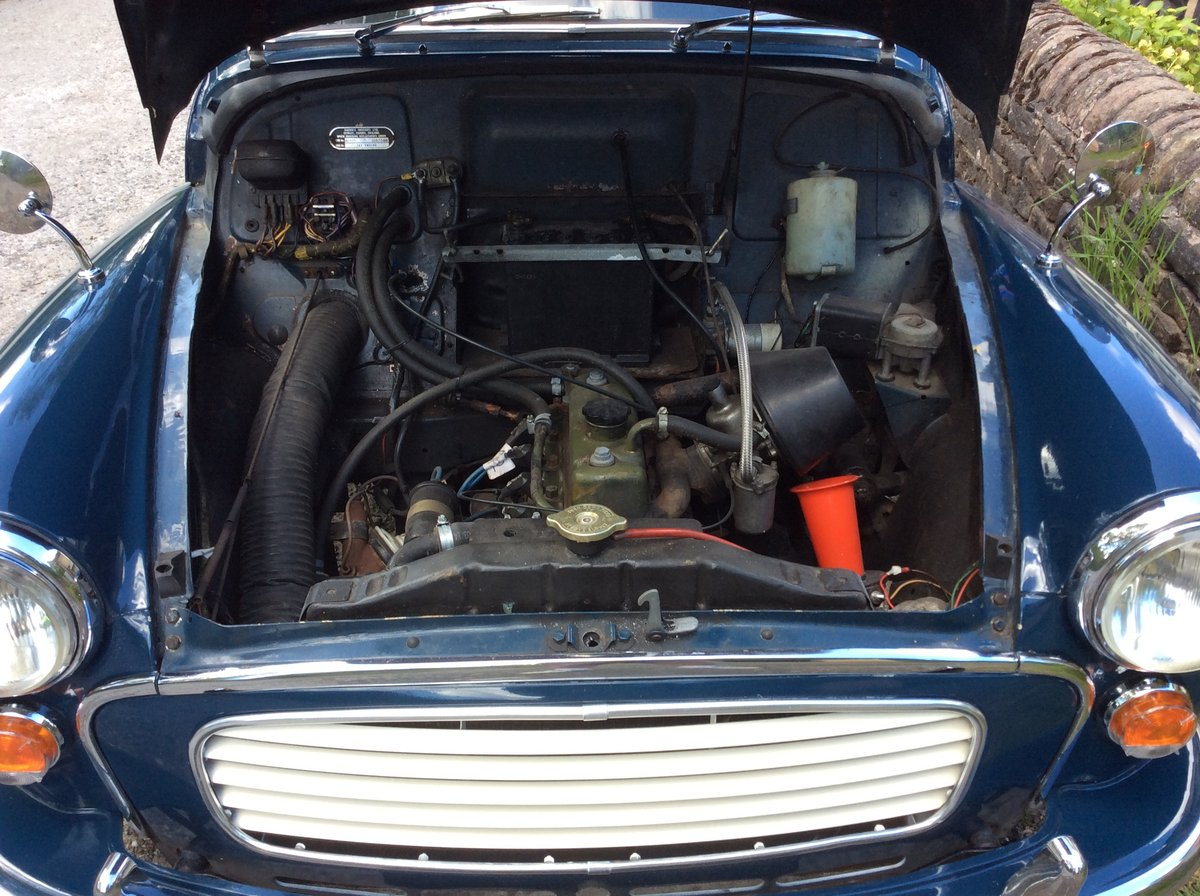 1964 Morris Minor Convertible SOLD (picture 6 of 6)