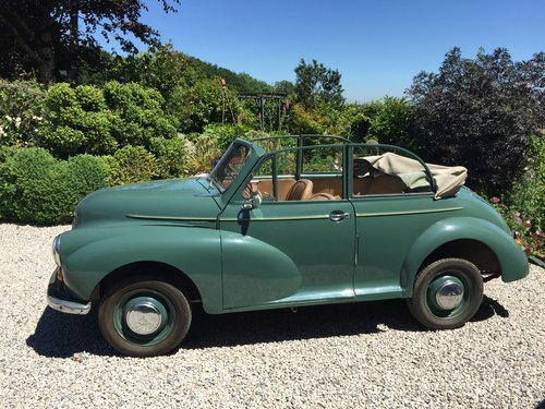 1952 Original factory Morris Minor Convertible For Sale (picture 1 of 6)