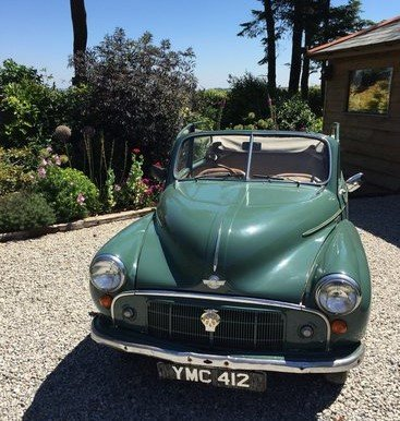 1952 Original factory Morris Minor Convertible For Sale (picture 2 of 6)