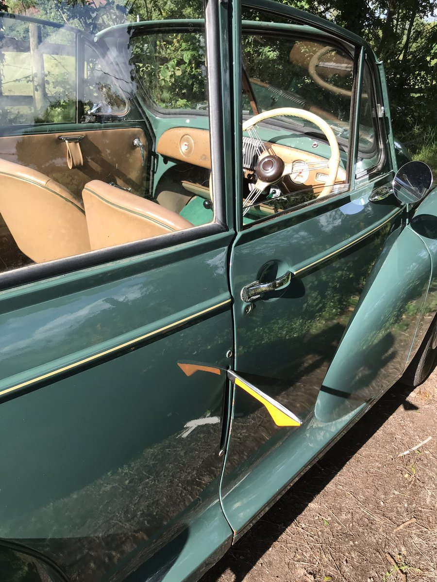 1952 Original factory Morris Minor Convertible For Sale (picture 3 of 6)