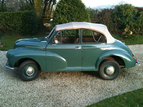 1952 Original factory Morris Minor Convertible For Sale (picture 5 of 6)