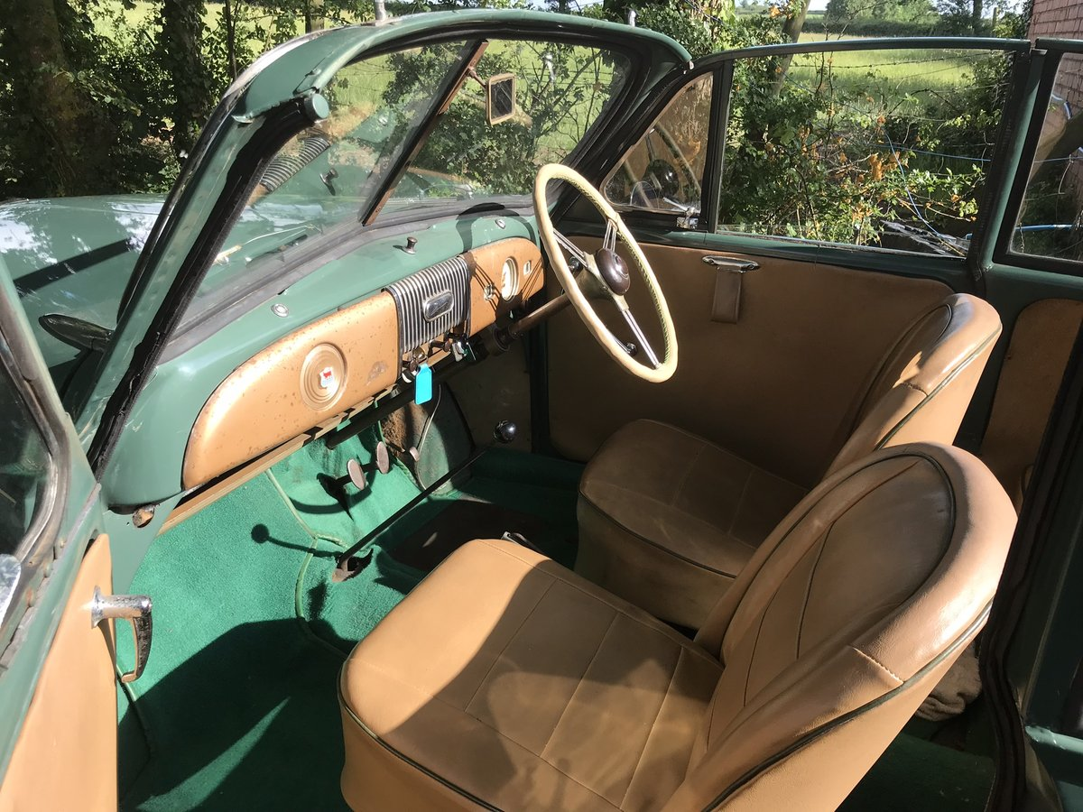1952 Original factory Morris Minor Convertible For Sale (picture 6 of 6)