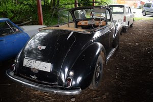 1951 MEGA-RARE SPLIT SCREEN MORRIS MINOR TOURER, SIDESCREENS For Sale