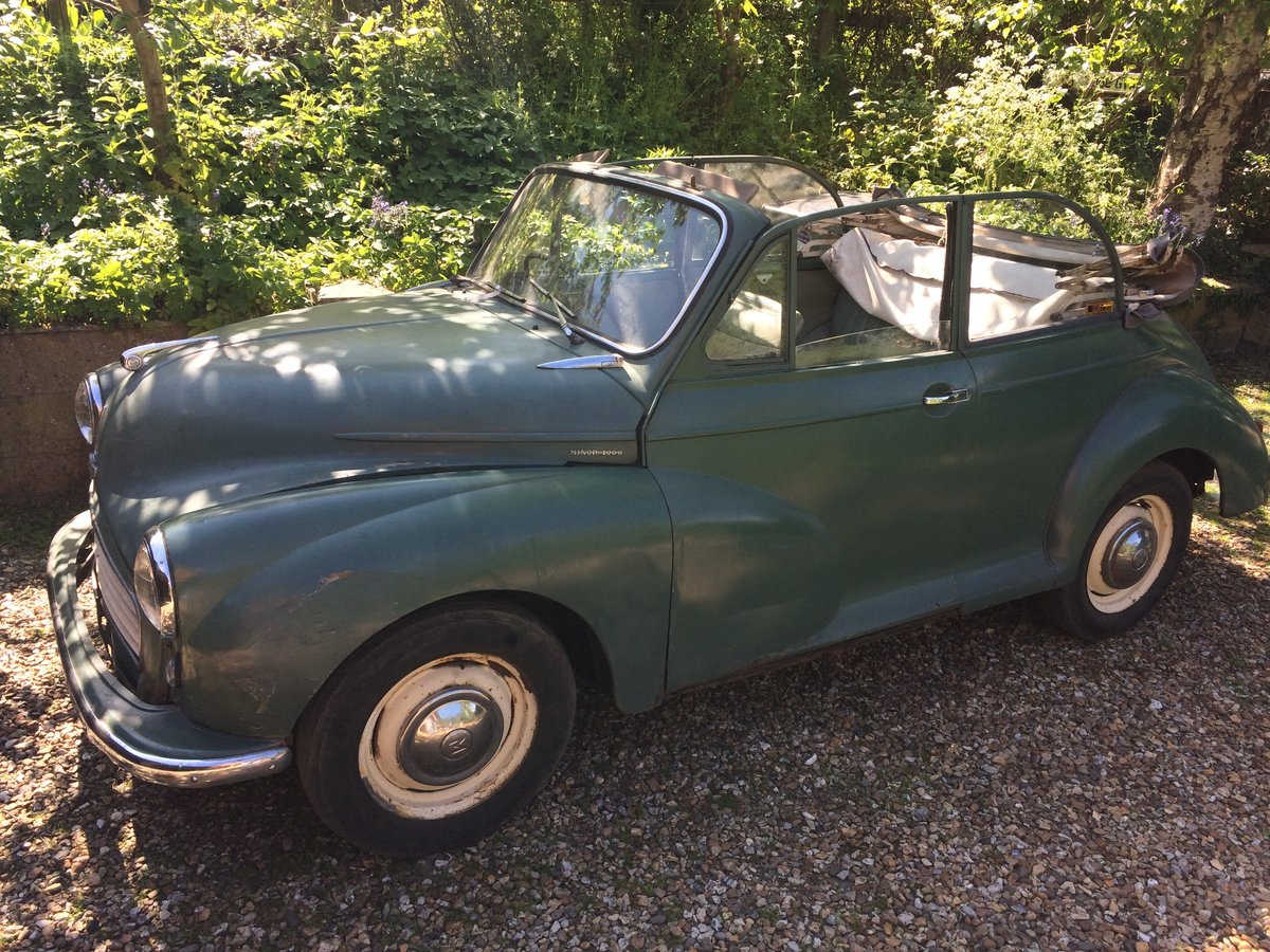 1963 genuine Minor Convertible SOLD (picture 1 of 6)