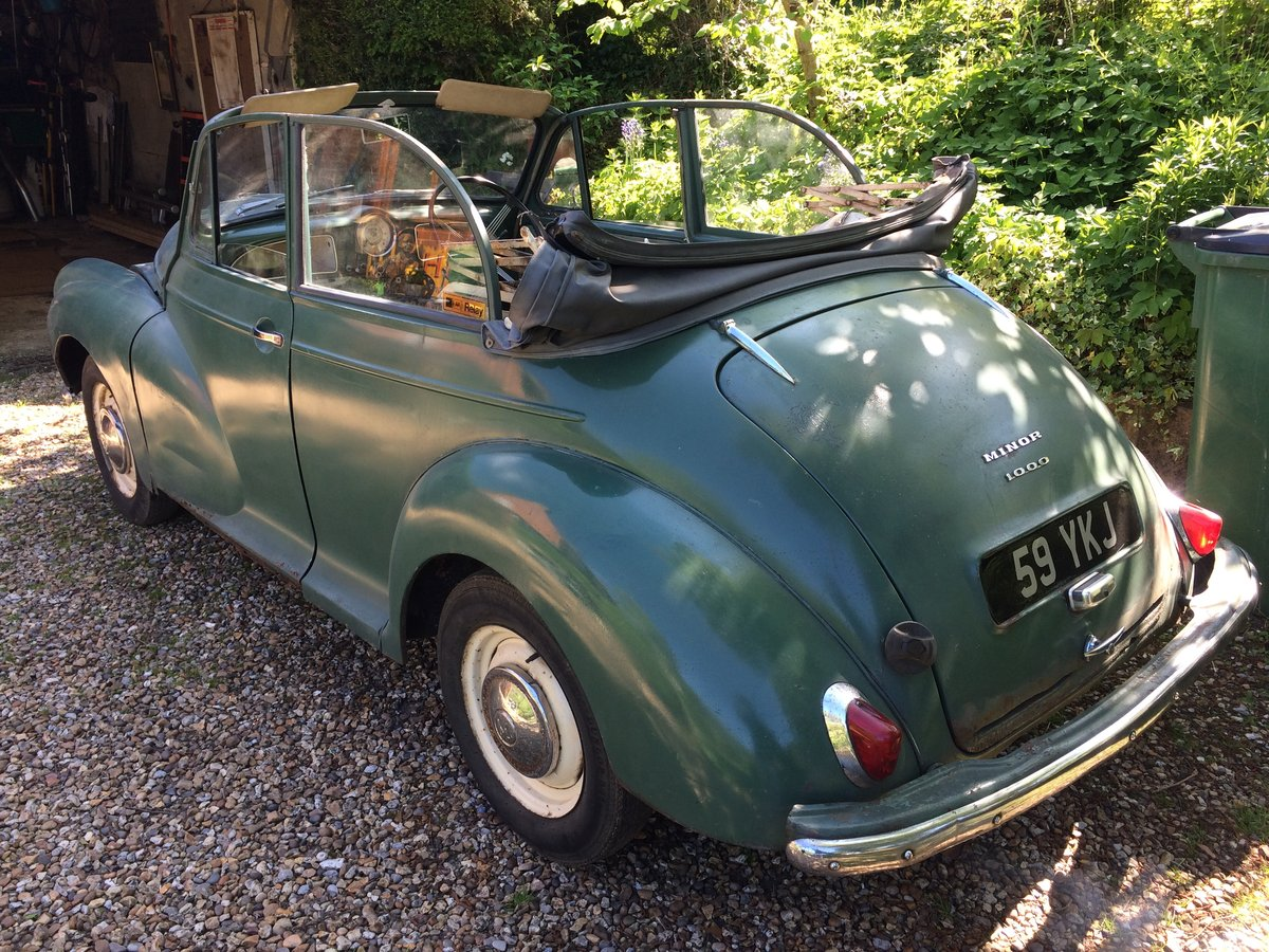 1963 genuine Minor Convertible SOLD (picture 2 of 6)