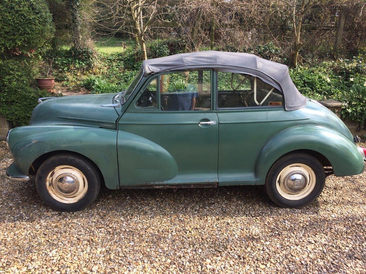 1963 genuine Minor Convertible SOLD (picture 5 of 6)