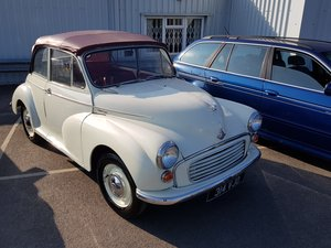 1958 ***Minor 1000 Convertible - 948cc July 20th*** For Sale by Auction