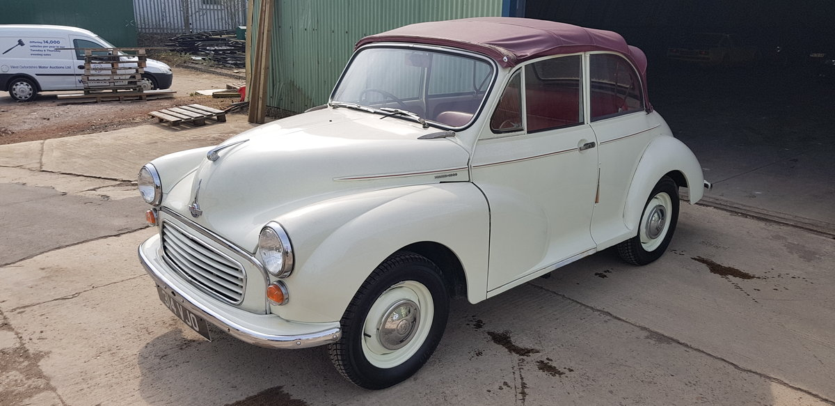 1958 ***Minor 1000 Convertible - 948cc July 20th*** For Sale by Auction (picture 2 of 6)