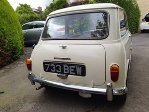 1961 Mini de luxe 848cc totally original For Sale