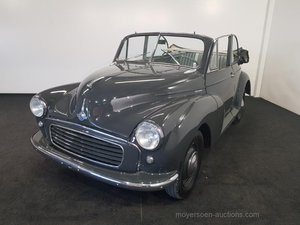 Morris Minor Tourer 1956  For Sale by Auction