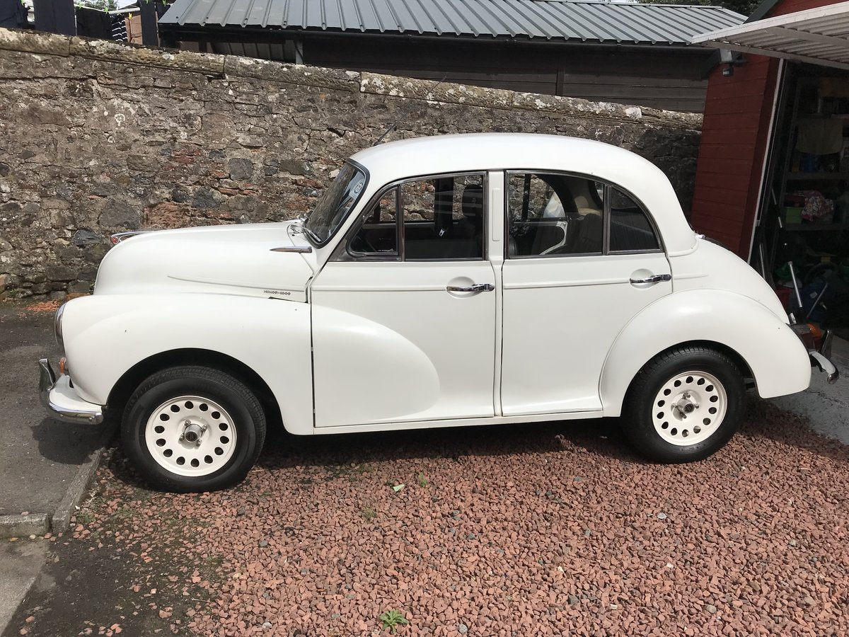 Morris Minor 1967, 4 dr Useful Upgrades For Sale (picture 1 of 6)