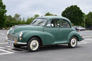 1968 Morris Minor 1000 Two-Door Saloon