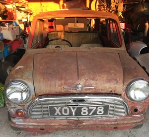 1959 Mk 1 Morris Mini Minor Saloon De-Luxe For Sale