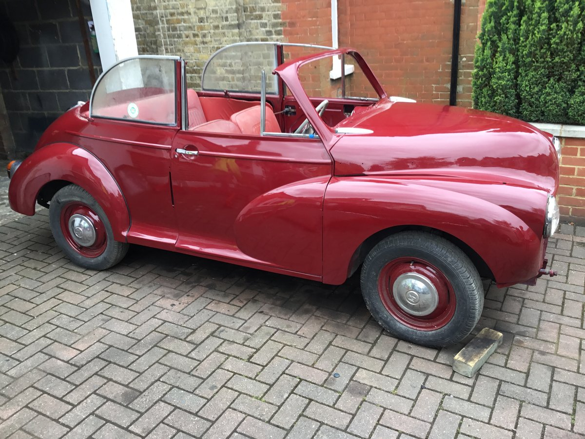 1956 Morris Minor Convertible Project SOLD (picture 1 of 6)