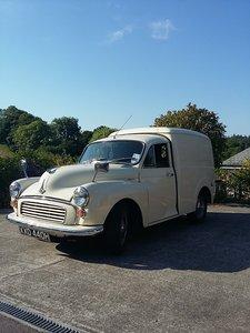 1969 Morris minor van 1098cc For Sale