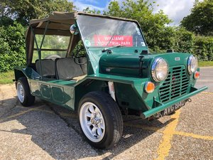 1966 Morris Mini Moke. 1275cc Spruce Green. Fully restored.  For Sale