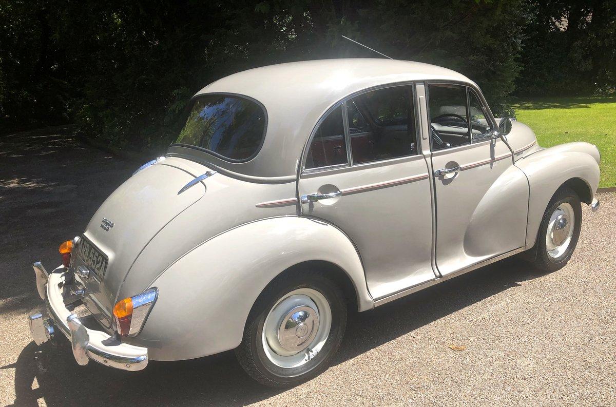 1963 Morris Minor 1000 4 door For Sale (picture 3 of 6)