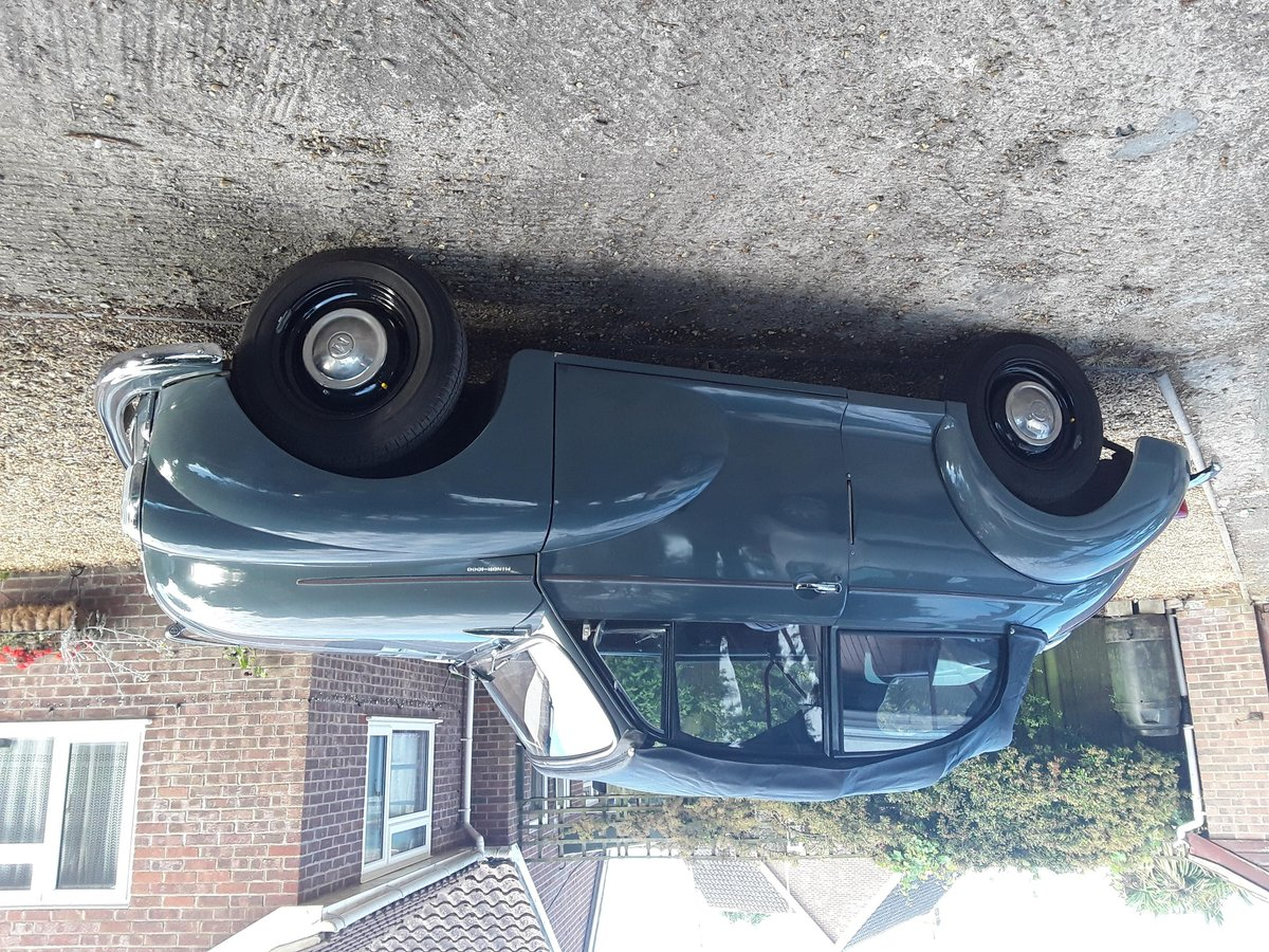 1958 Original Factory Morris Minor Convertible For Sale (picture 3 of 6)