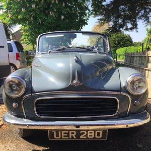 1958 Original Factory Morris Minor Convertible For Sale