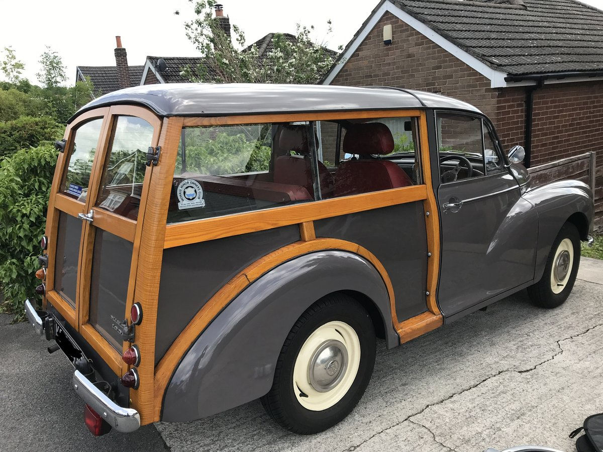 1967 Morris Traveller, Rose Taupe, Excellent Condition SOLD (picture 3 of 6)