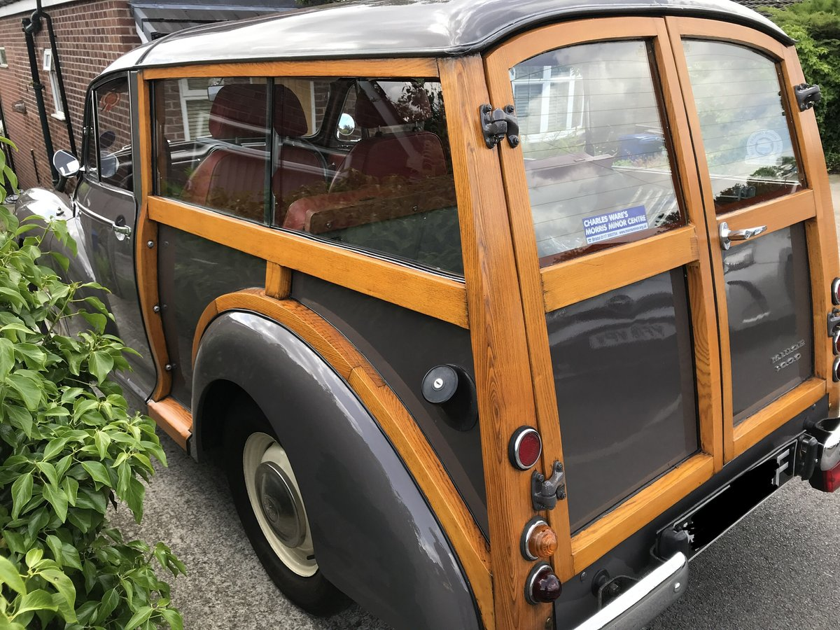1967 Morris Traveller, Rose Taupe, Excellent Condition SOLD (picture 5 of 6)