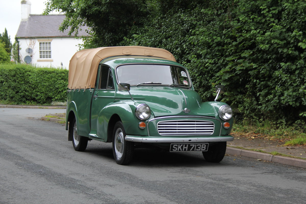 1964 Morris Minor Pick Up - Ex Demonstrator For Sale (picture 1 of 12)