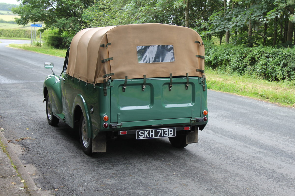 1964 Morris Minor Pick Up - Ex Demonstrator For Sale (picture 4 of 12)