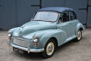 Lot 48 - A 1965 Morris Minor 1000 convertible - 21/07/2019 For Sale by Auction